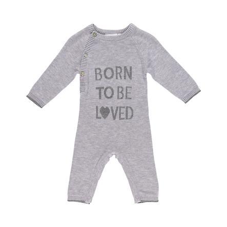 noukie´s Overall gris coco Né pour être aimé