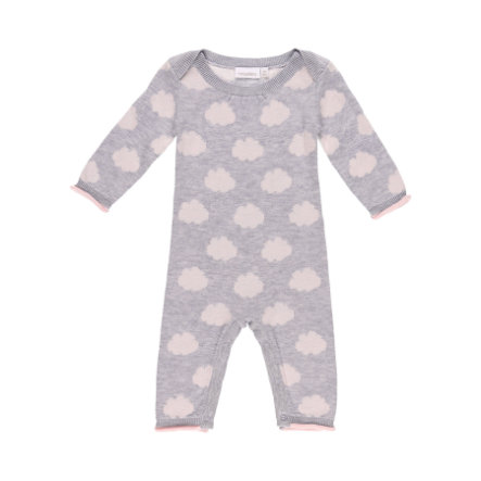 noukie´s Girls Overall Cocon grey and pink