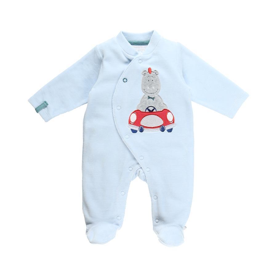 noukie's pyjamas i ett stycke ljusblå