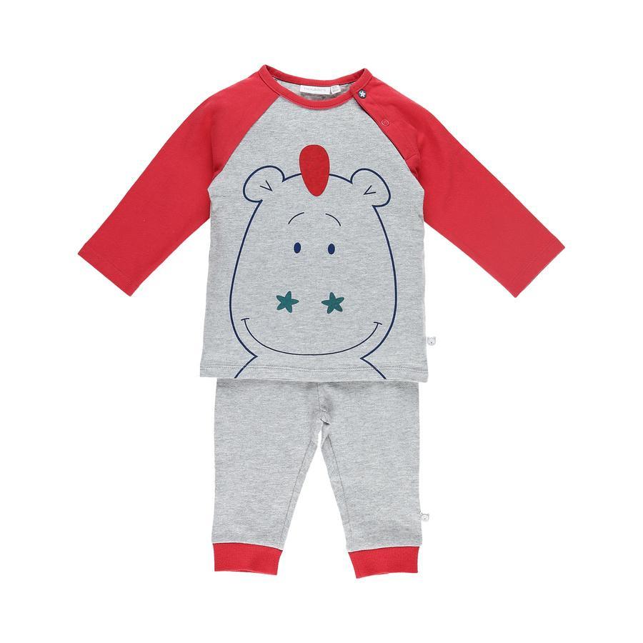 nBoys oukie´s Pijama de 2 piezas con rayas turquesa marga