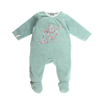 noukie Girl 's Pajamas 1-częściowy aqua