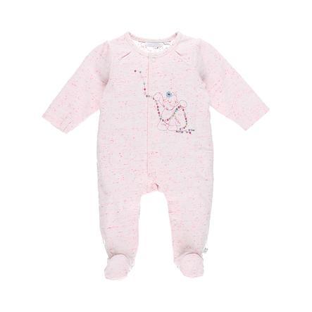 noukie Girl 's Pajamas 1-częściowy biały/różowy