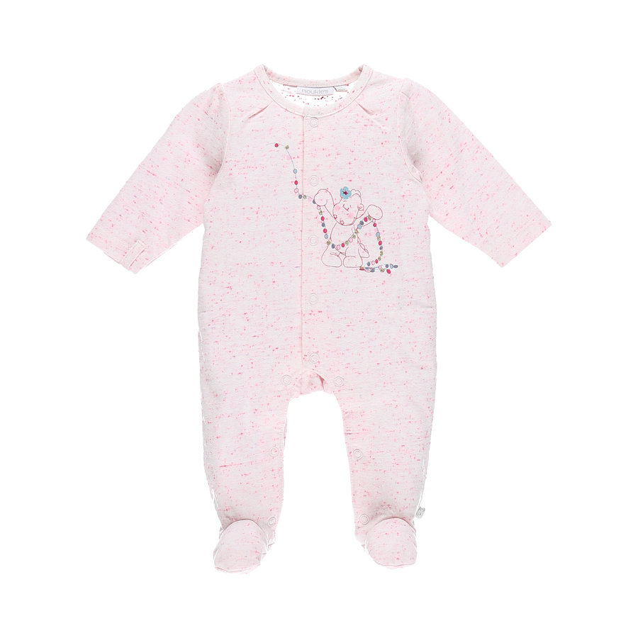 noukie´s Girls Schlafanzug 1-tlg. weiß/rosa