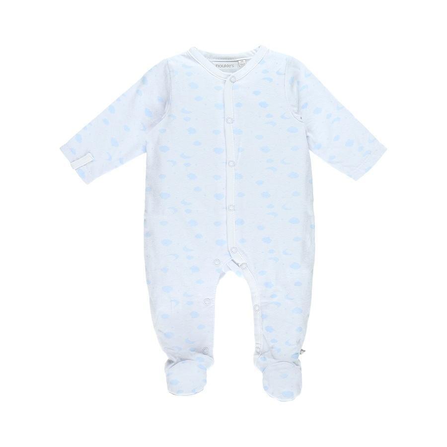 noukie Girl 's pyjama 1-delige lichtblauwe noukie's pyjama