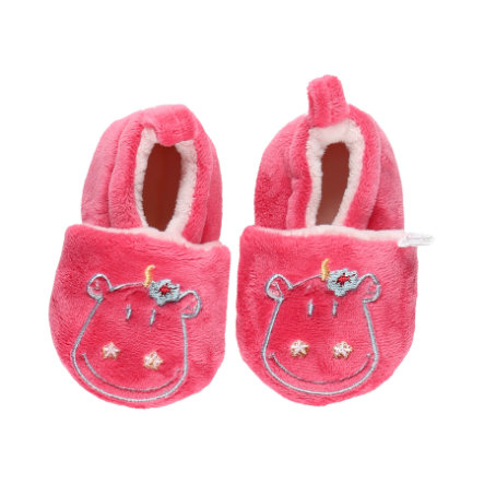 noukie Girl s crawling scarpe fushia noukie's crawling shoes