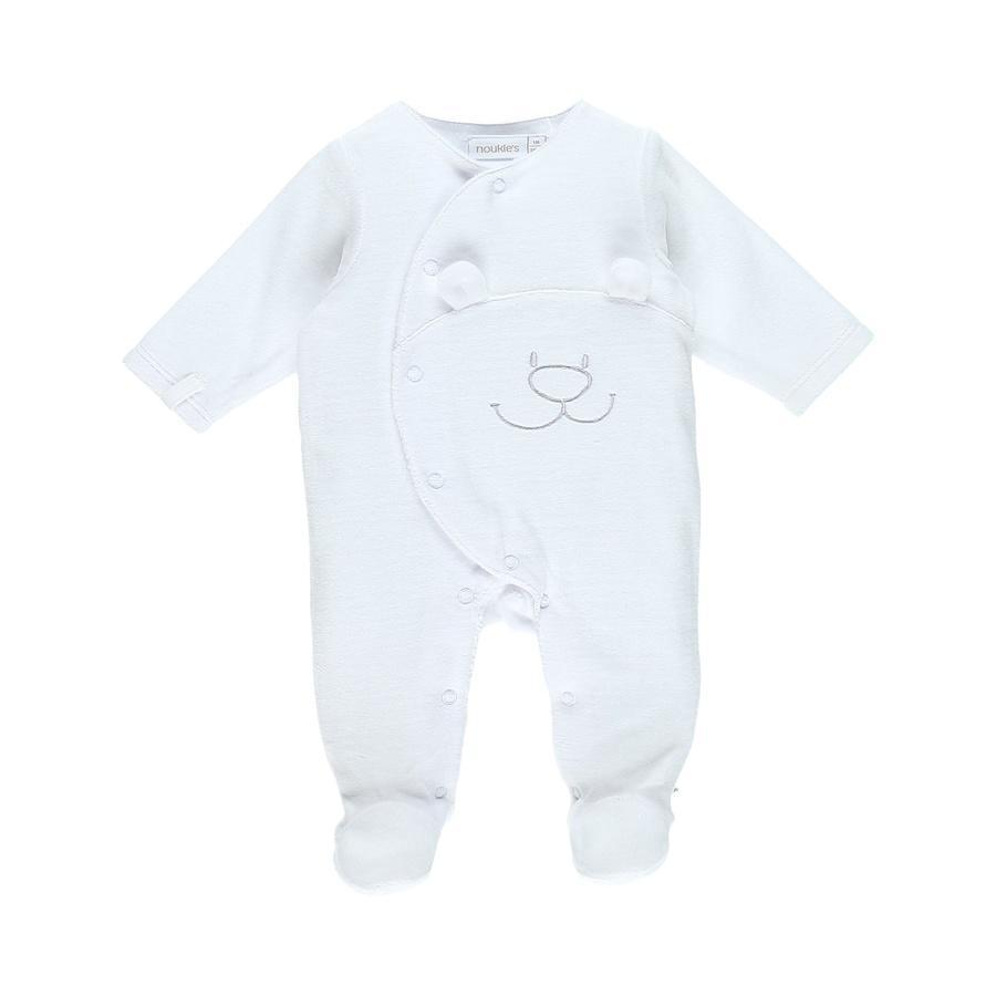noukie´s Pyjama 1 pièce blanc