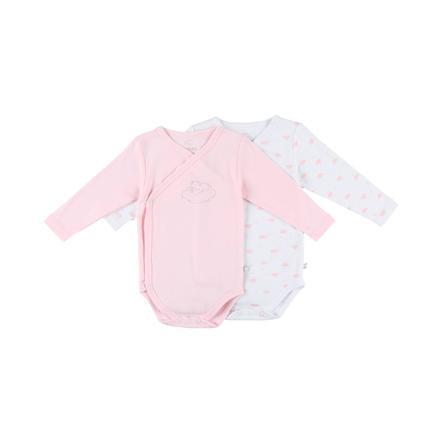 noukie´s Girls Body 2er Pack light pink white