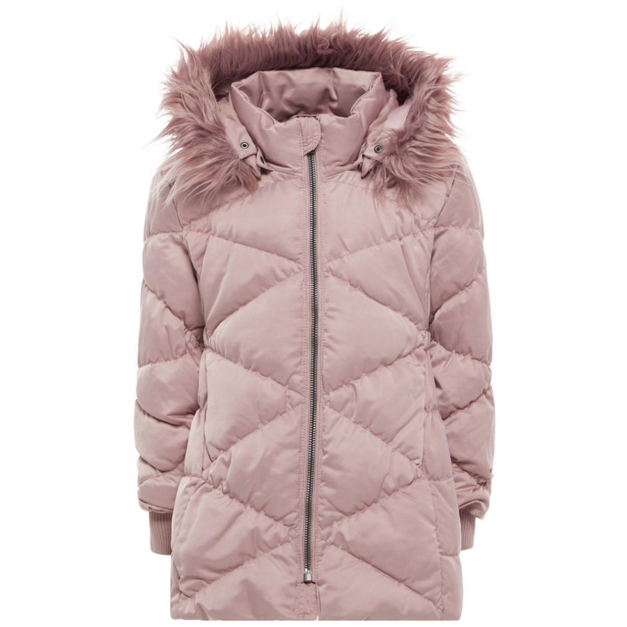 name it Girl s Chaqueta de invierno Melia woodrose
