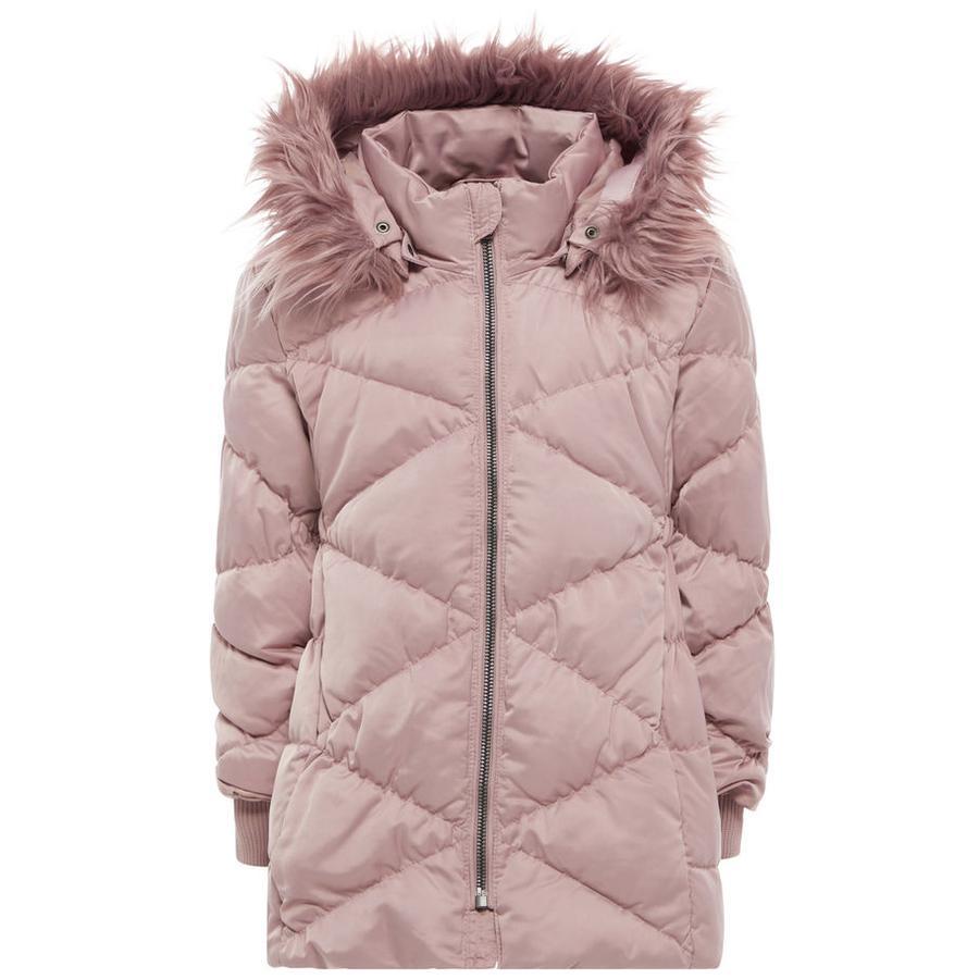name it Girls Winterjacke Melia woodrose
