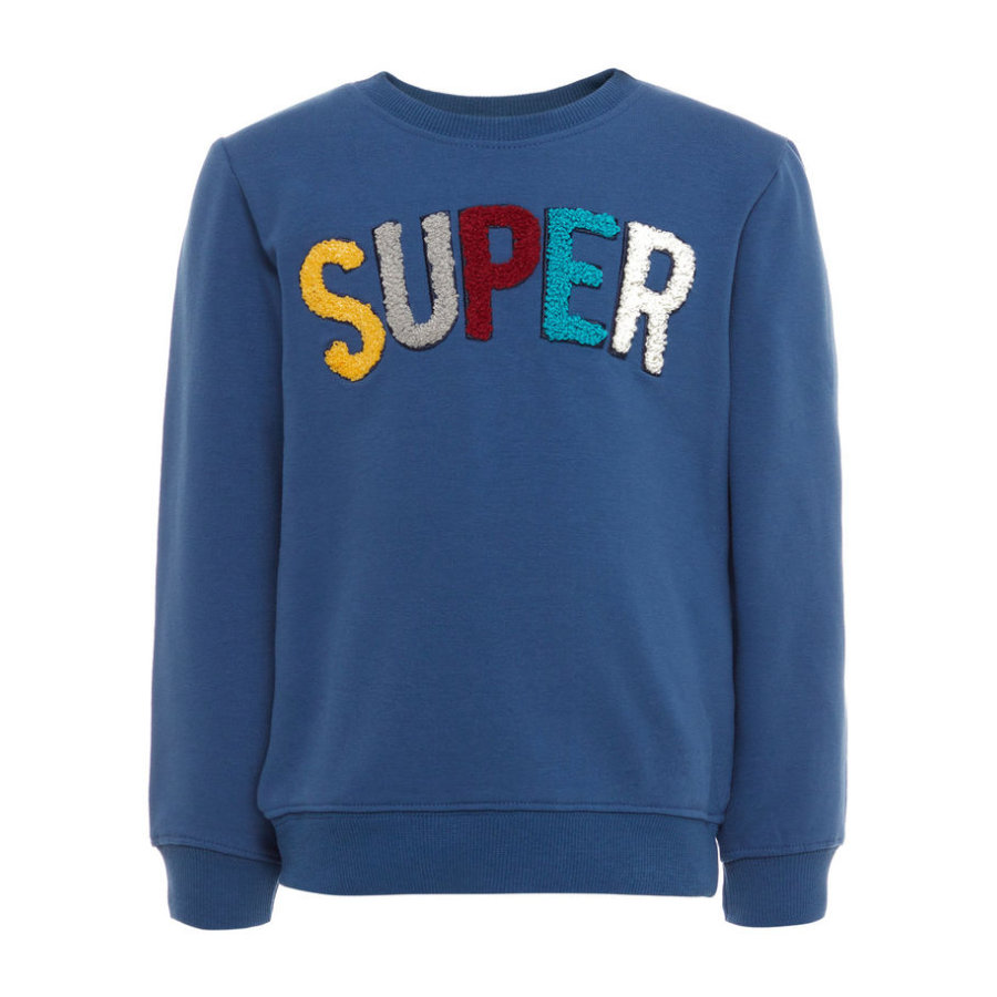 name it Boys Sweatshirt Gestan ensign blue