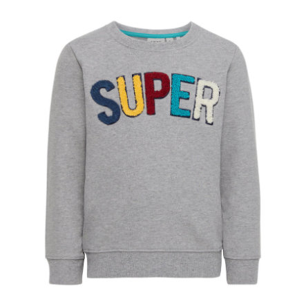 name it Boys Sweatshirt Gestan gris mélangé