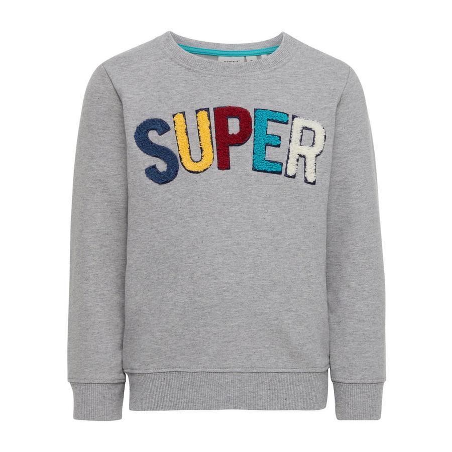 name it Boys Sweatshirt Gestan grey melange
