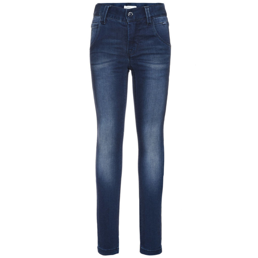 name it Girl jeans denim blu scuro di s Classic dark blue jeans