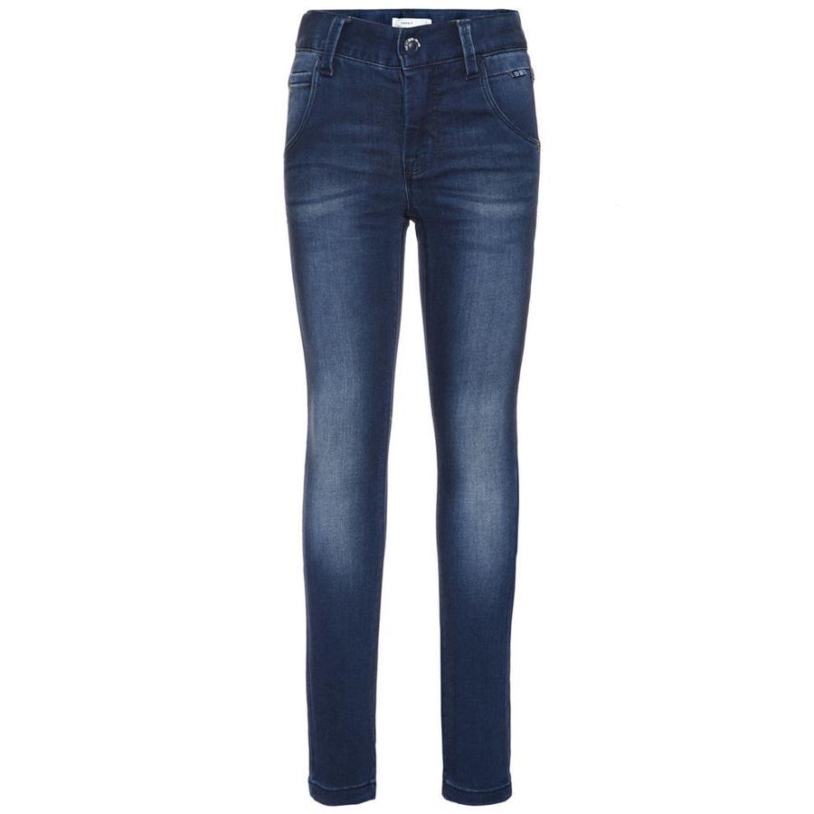 name it Girls Jeans Classic dark blue denim