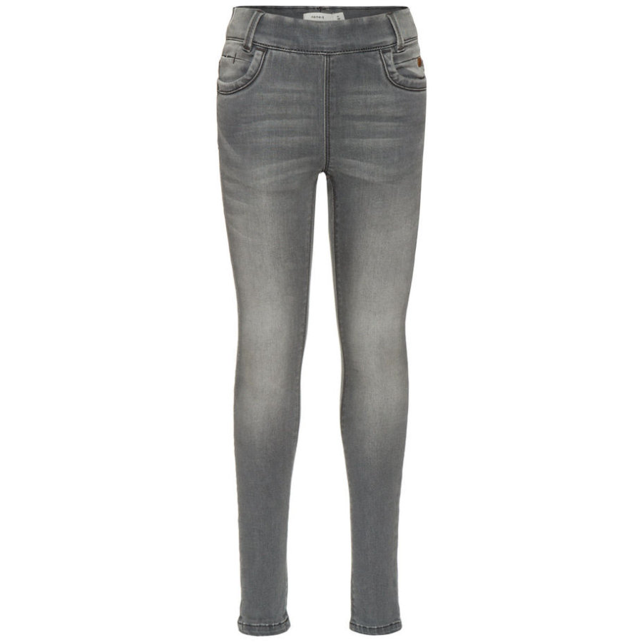 name it Girls Jeans-Leggings Tonja light grey denim