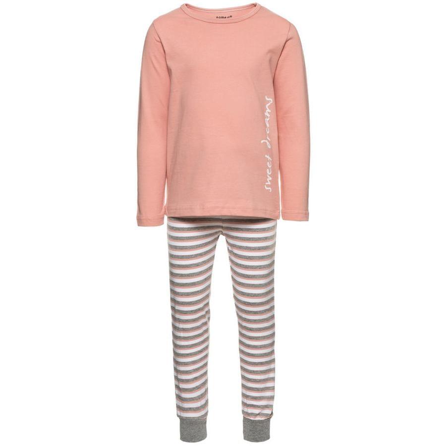 name it Girl pigiama s 2 pezzi rosa abbronzatura