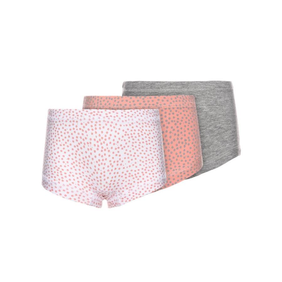 name it Girls Panty 3er Pack rose tan