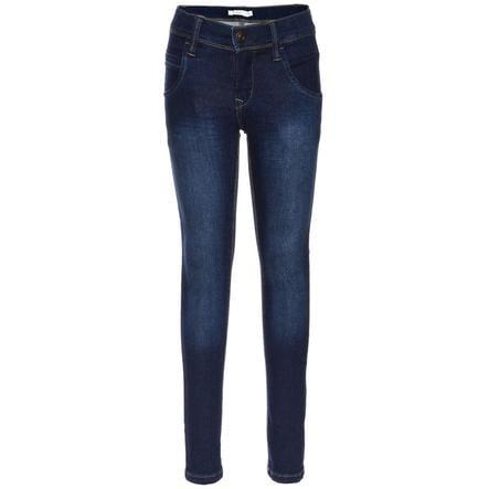 name it Jeans Tax mörkblå denim