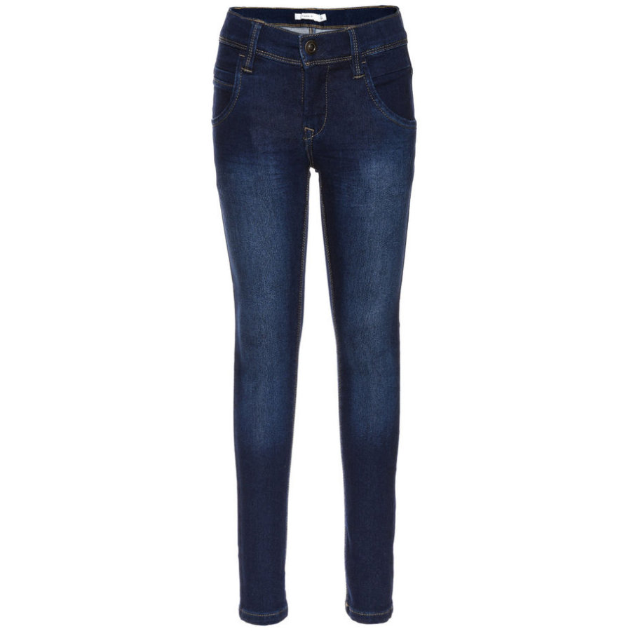 name it Boys Jeans Tax dark blue denim