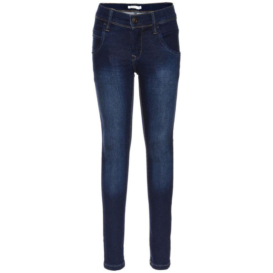 name it Girls Jeans Tita medium blue denim