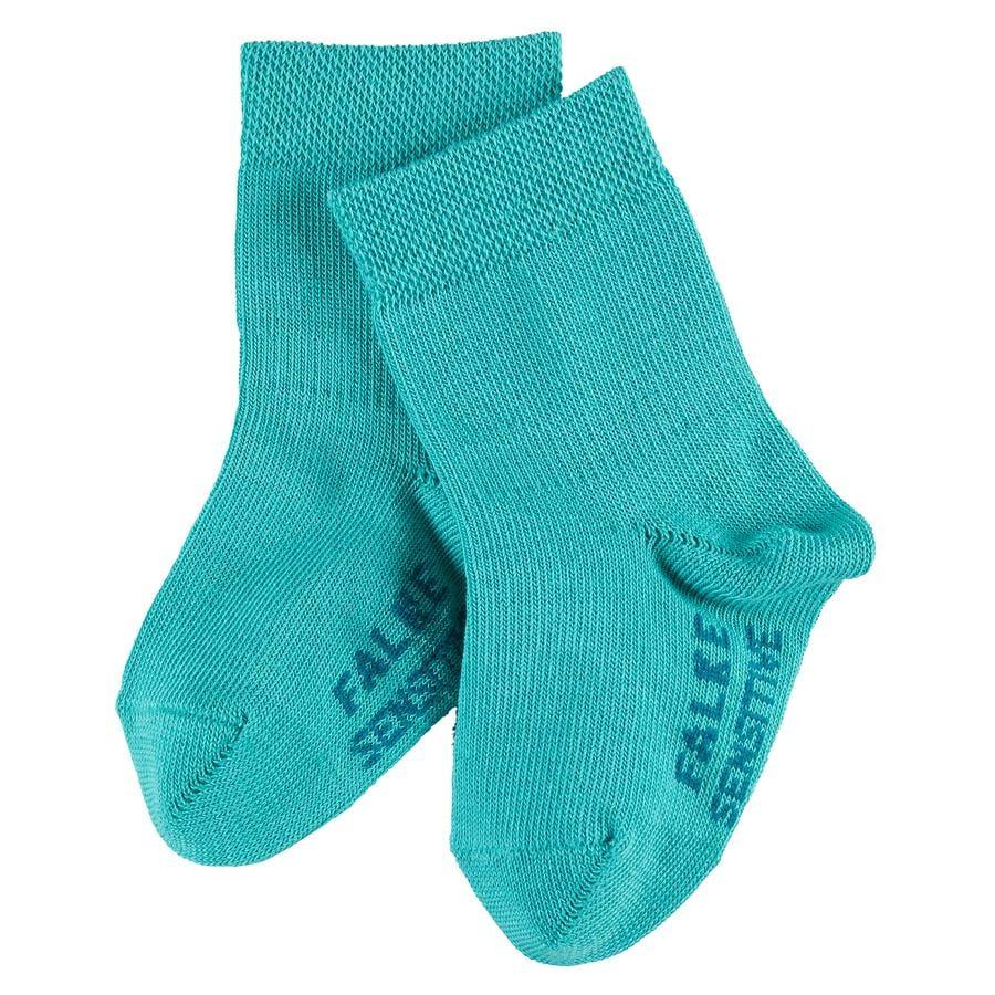 FALKE Girls Socken Catspads Cotton oxygreen
