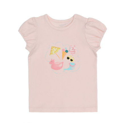 name it Girls T-Shirt Dear pink dogwood