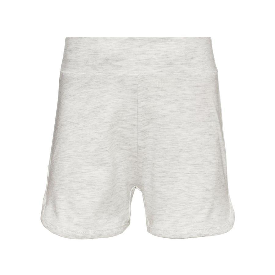 name it Girl s Pantalones cortos Vims gris claro mélange