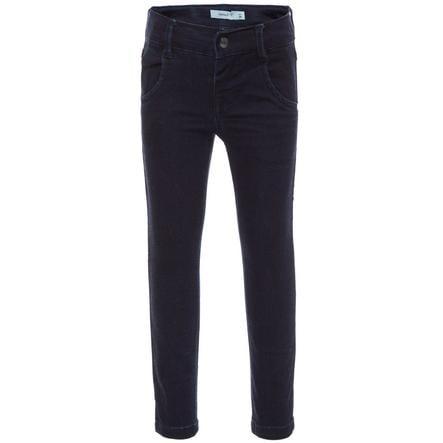 name it Boys Jeans Aksel dark blue denim