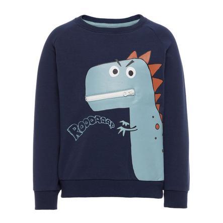 name it Boys Sweatshirt Etna jurkje blauw