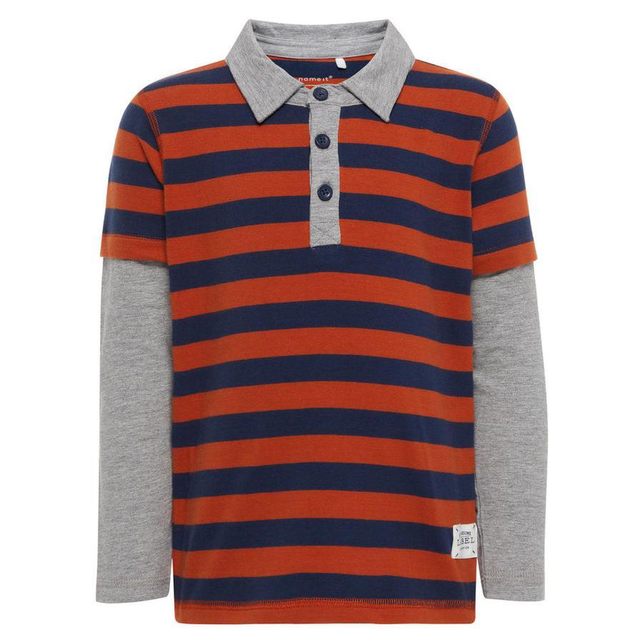 name it Boys Poloshirt bâton de cannelle
