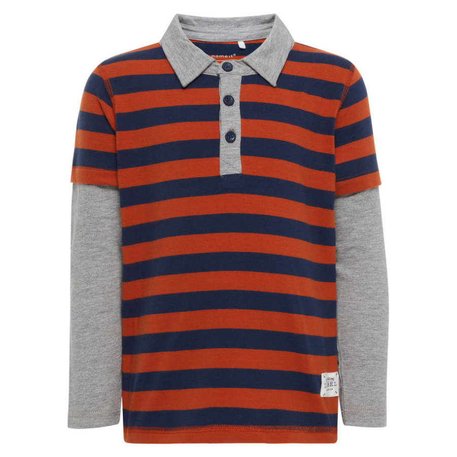 name it Boys Poloshirt cinnamon stick
