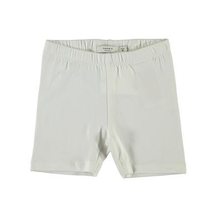 name it Girl s pantaloncini ciclismo Vivian bianco brillante bianco brillante