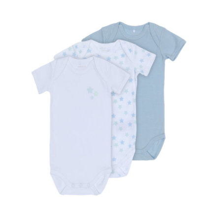 name it Boys Body 3er Pack cashmere blue
