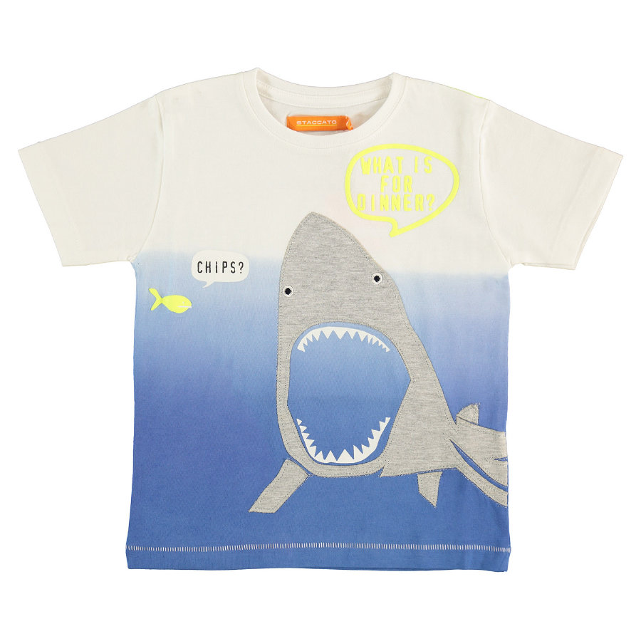 STACCATO Boys T-Shirt blanco real