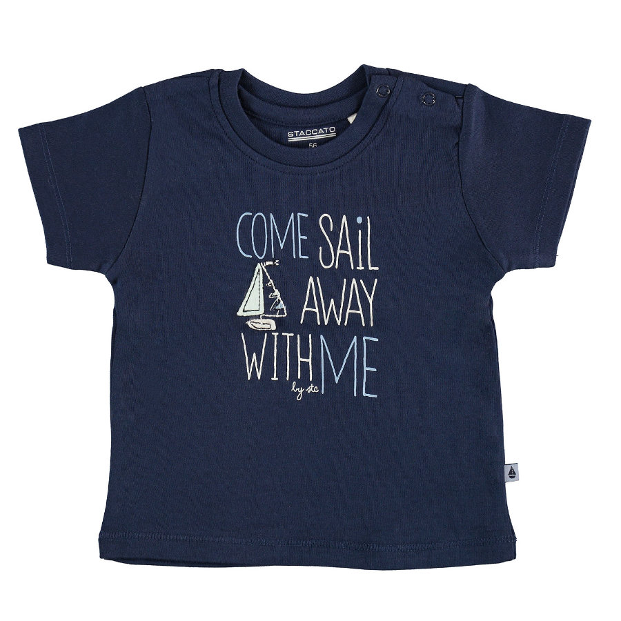 STACCATO T-Shirt navy Sail