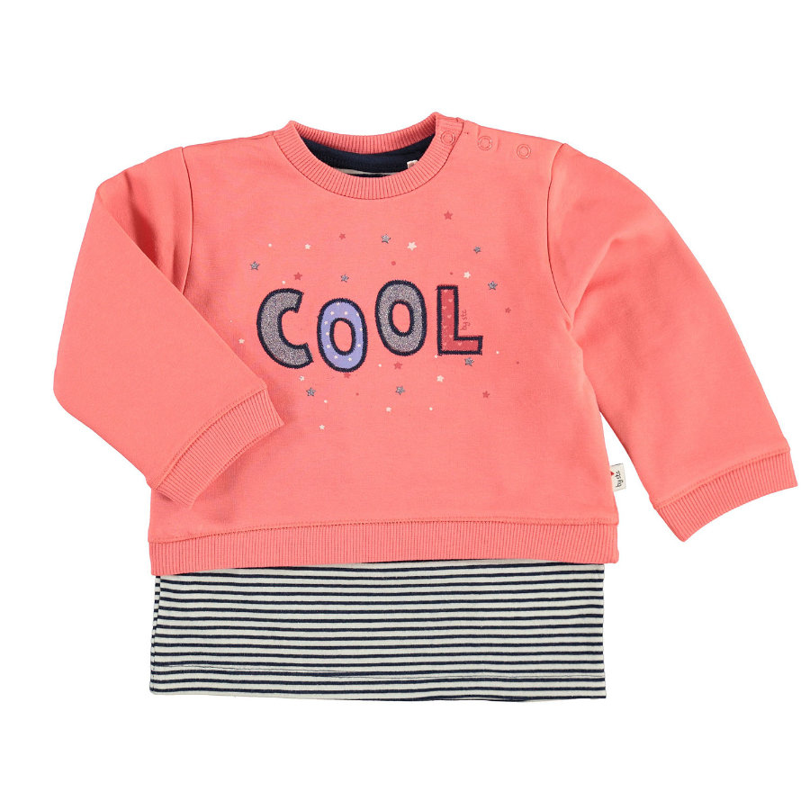 STACCATO Girl s Sweatshirt 2 in 1 soft rood