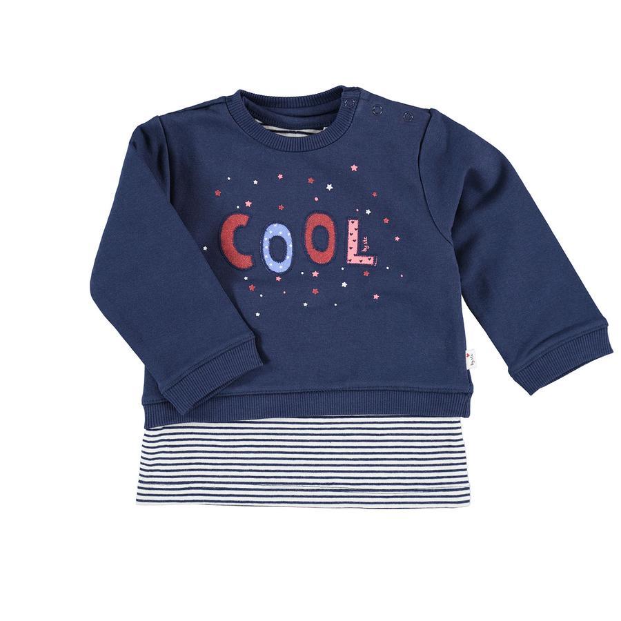 STACCATO  Girls Sweatshirt 2 i 1 denim blå