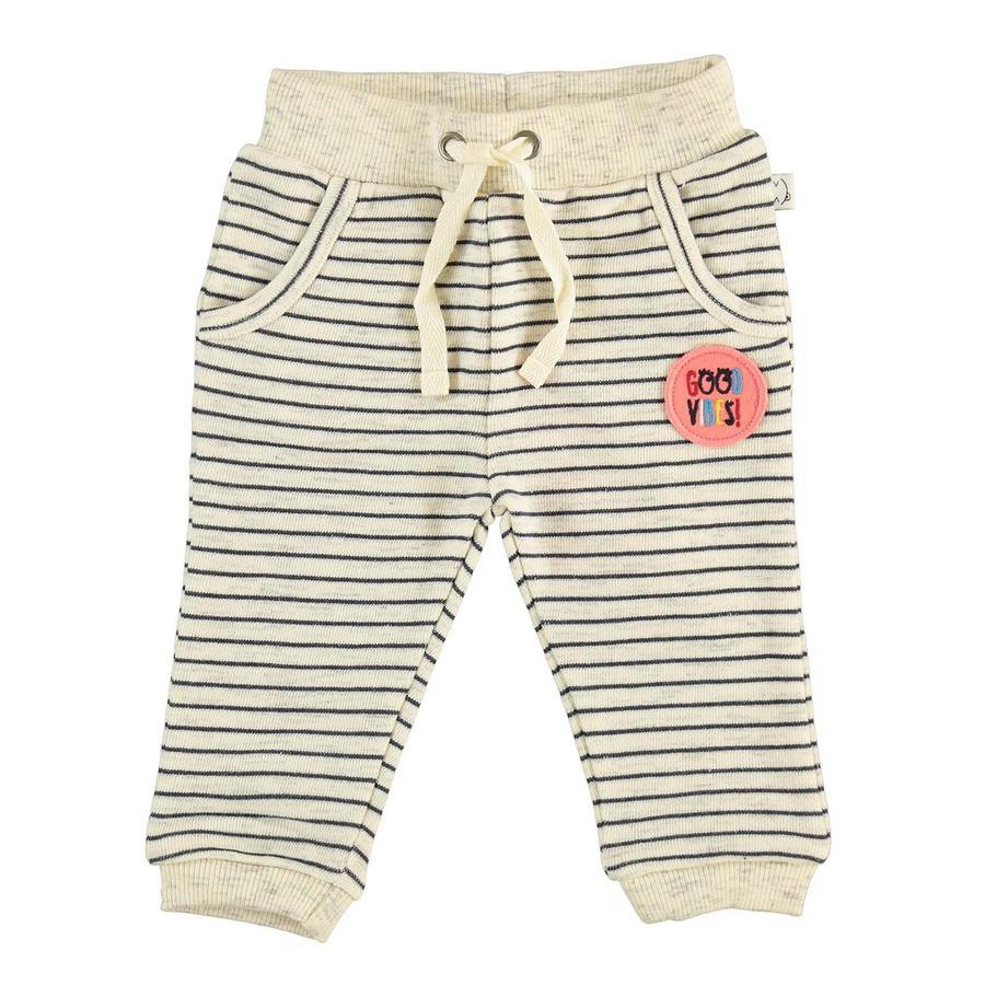 STACCATO Girl s pantalones de chándal rayas blanquecinas