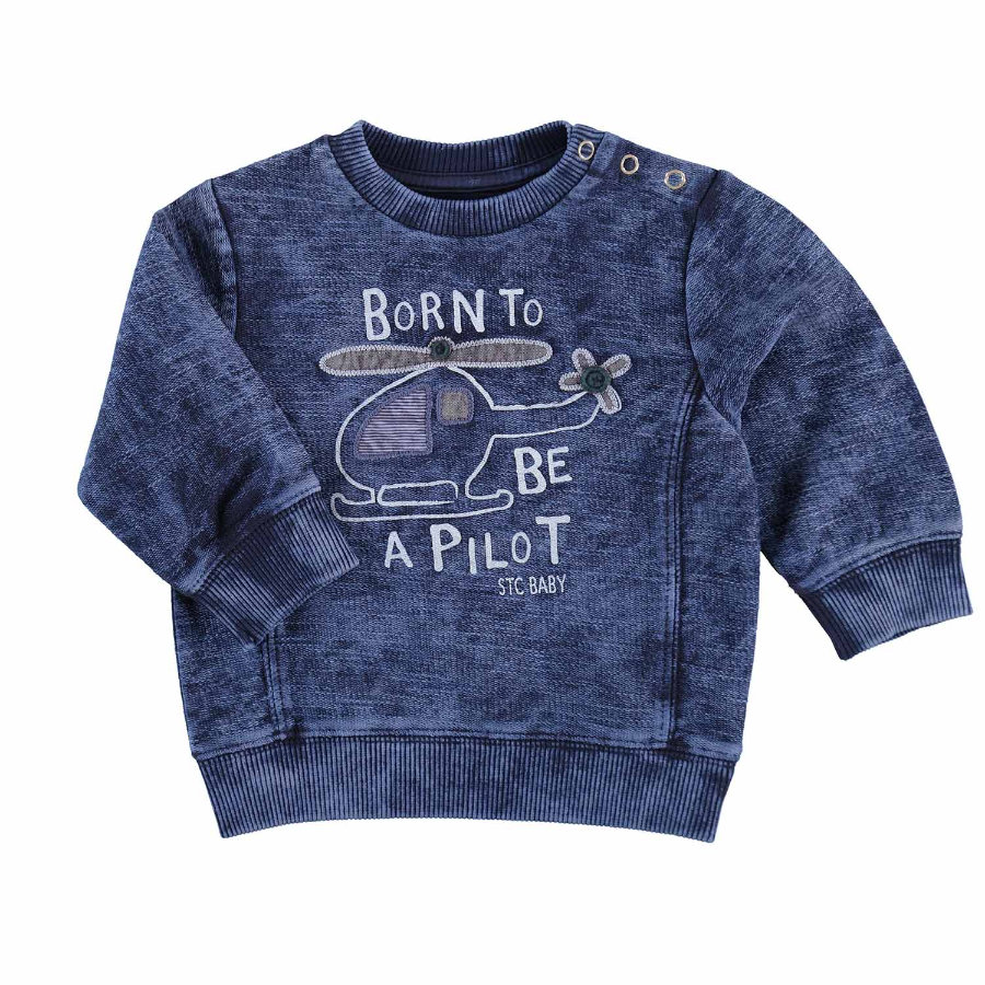 STACCATO Boys Sweat-shirt structure indigo