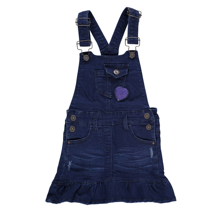 STACCATO Girl pettorina pettorina in denim blu medio