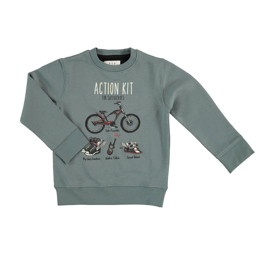 STACCATO Boys Sweater stoffig blauw
