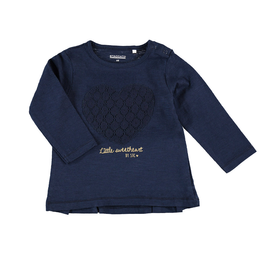 STACCATO Girls Langarmshirt navy