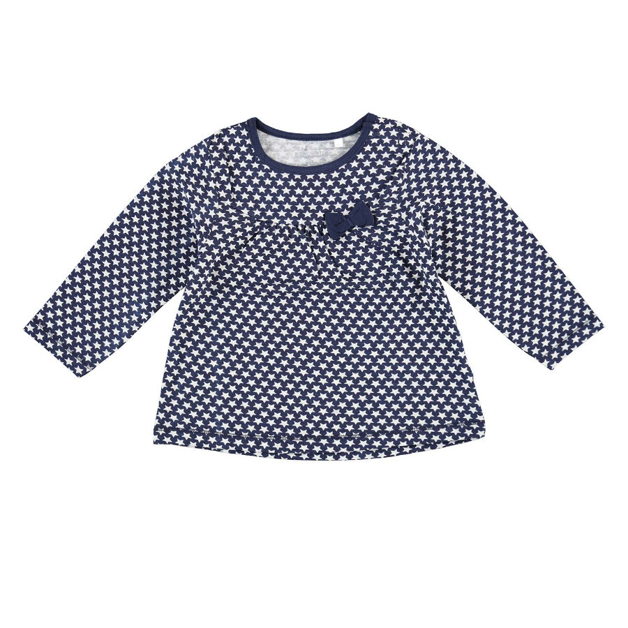 STACCATO Girls Langarmshirt navy star