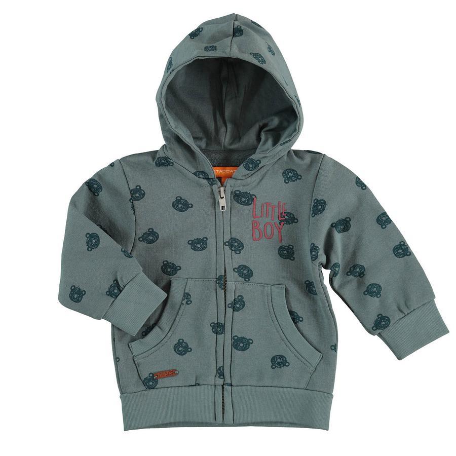STACCATO Boys Sweatjacket jade à motifs