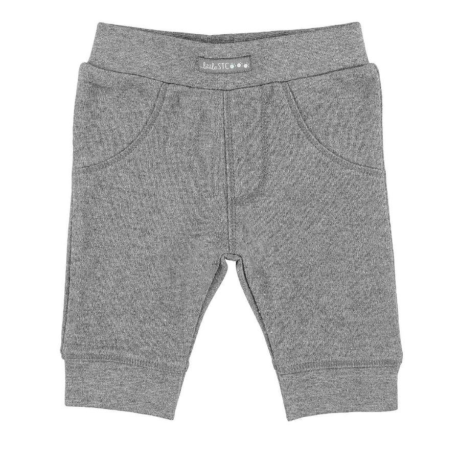 STACCATO Boys Pantalone felpa grigio scuro melange grigio scuro