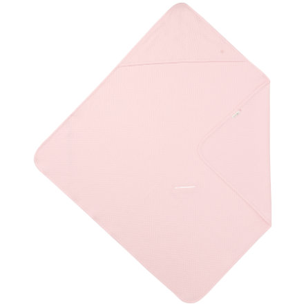 noppies Handdoek met capuchon Nus Light Pink