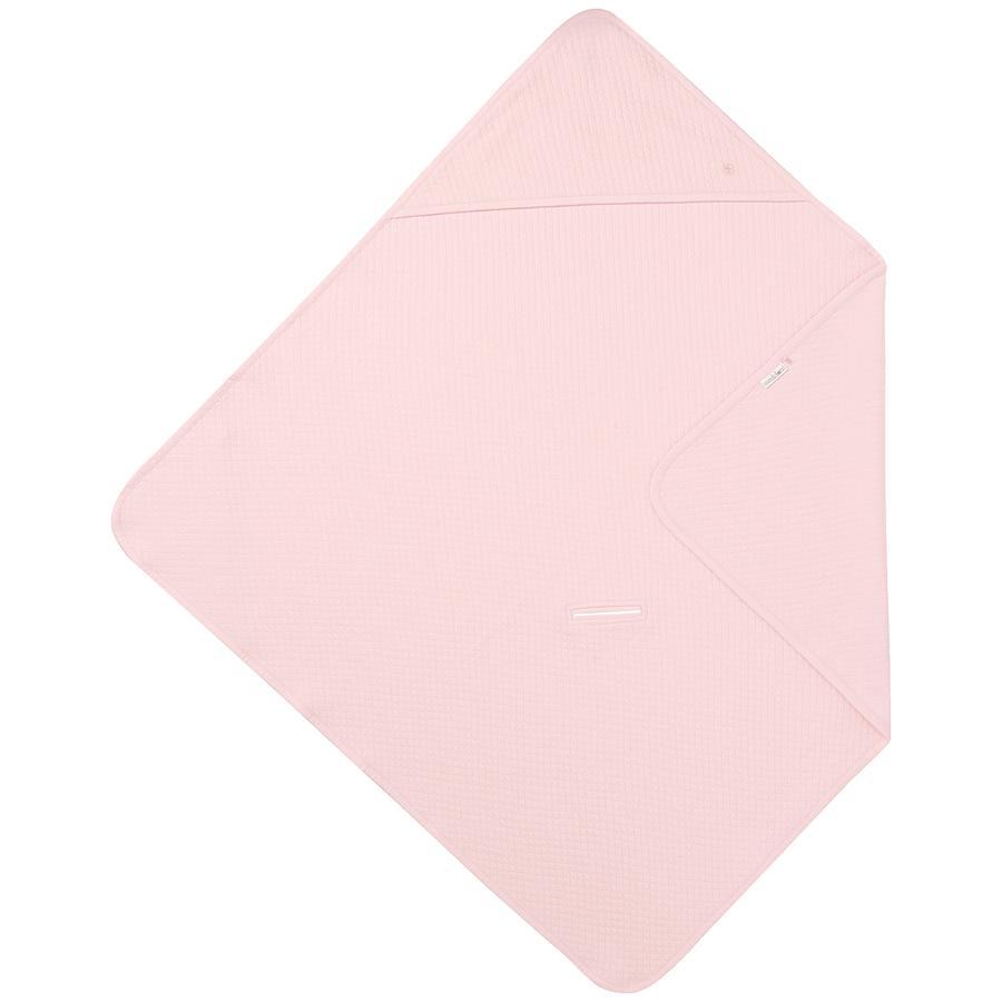 noppies Ręcznik kąpielowy z kapturem Nus Light Pink