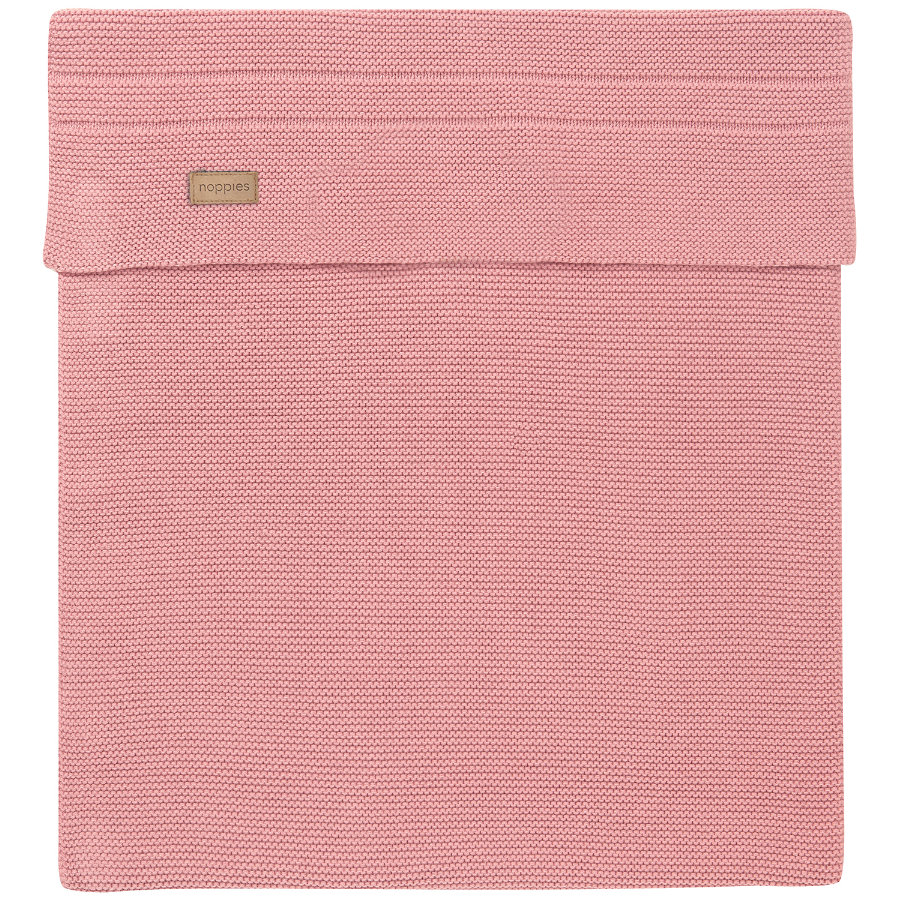 noppies Strickdecke Nola 120x120cm Old Pink