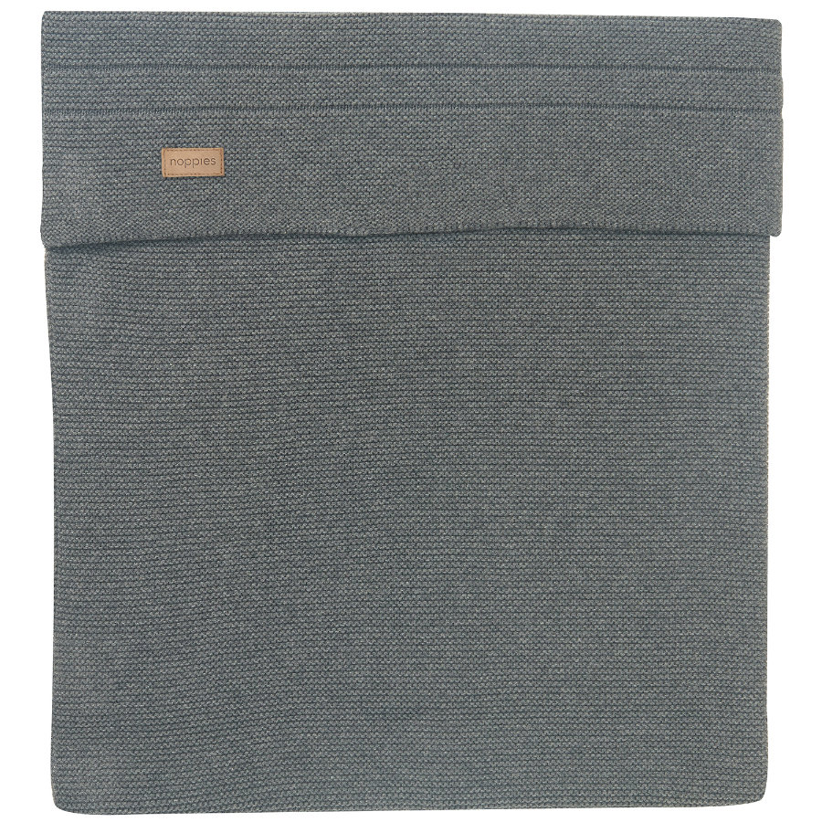 noppies Bettdecke Norcia 75x100cm Dark Grey