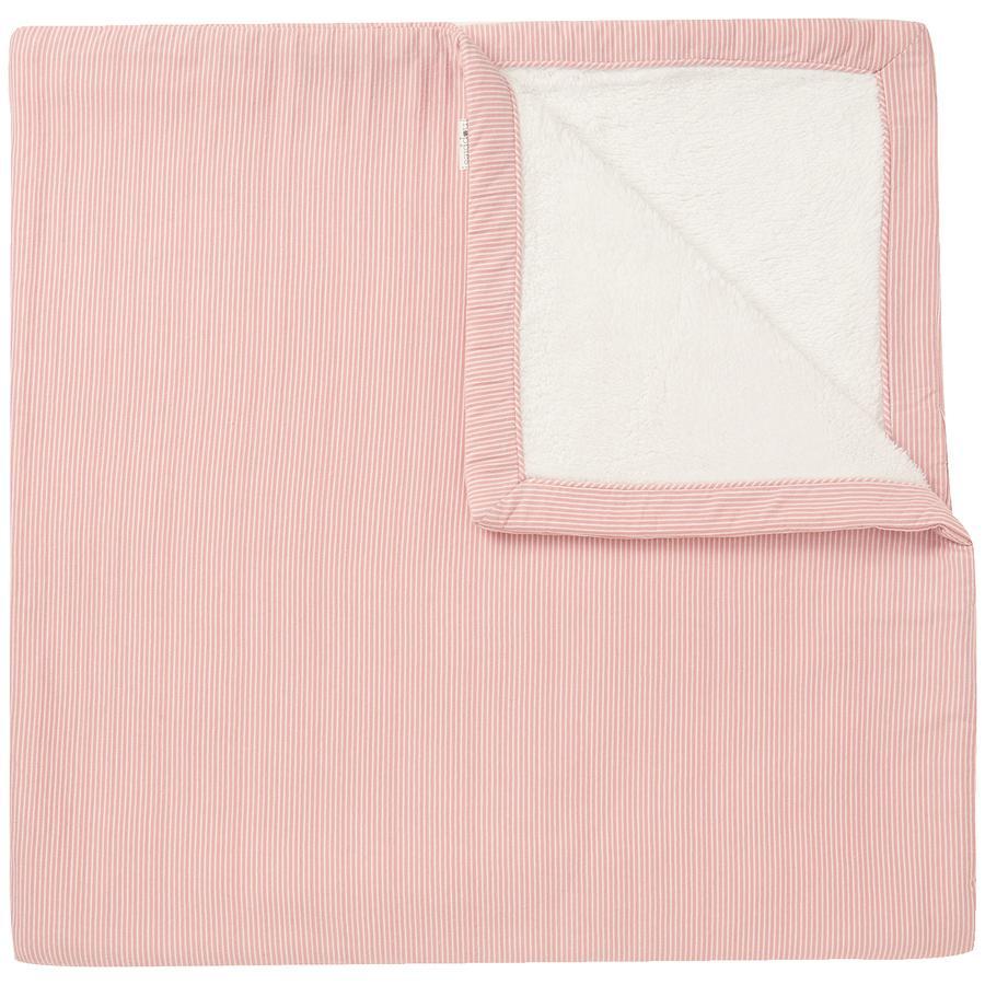 noppies Deken gebreid Noto 120x120cm Old Pink